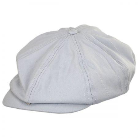 Brood Tonal Stripe Newsboy Cap