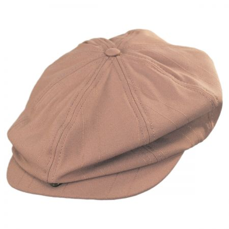 Brixton Hats Brood Tonal Stripe Newsboy Cap