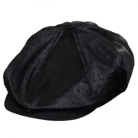 Brood Faux Pony Hair Newsboy Cap alternate view 7