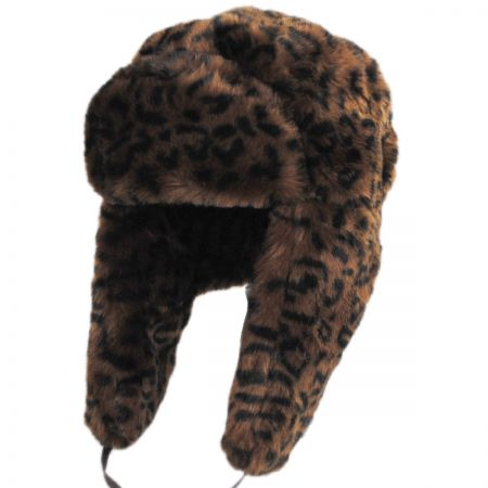 Leopard Trapper Hat alternate view 1