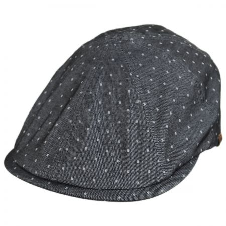 Spot Cotton Blend Flexfit Newsboy Cap alternate view 5