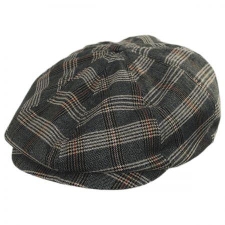 Brixton Hats Brood Plaid Newsboy Cap Newsboy Caps 74600e04d52