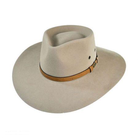 Akubra Territory Fur Felt Australian Western Hat