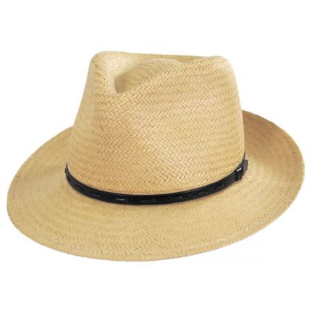 Lappen Raindura Toyo Straw Blend Fedora Hat alternate view 5