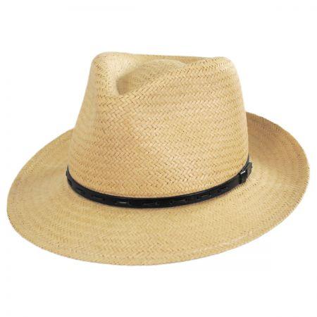 Lappen Raindura Toyo Straw Blend Fedora Hat alternate view 17