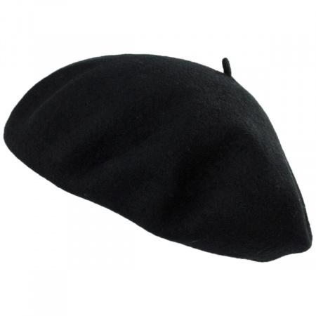 Brixton Hats Audrey Satin Lined Wool Beret