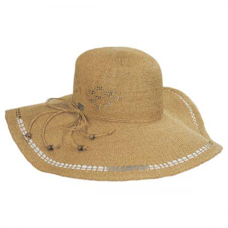 Abbey Toyo Straw Floppy Swinger Hat