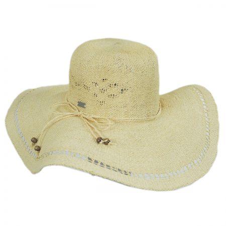 Betmar Abbey Toyo Straw Floppy Swinger Hat