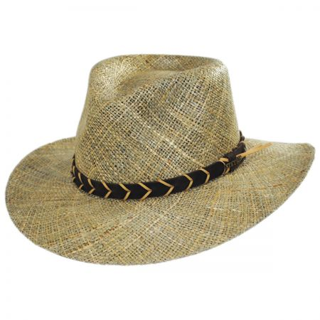 Alder Seagrass Straw Outback Hat alternate view 9