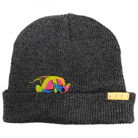 Neff Peek A Boo Tropical Fish Beanie Hat