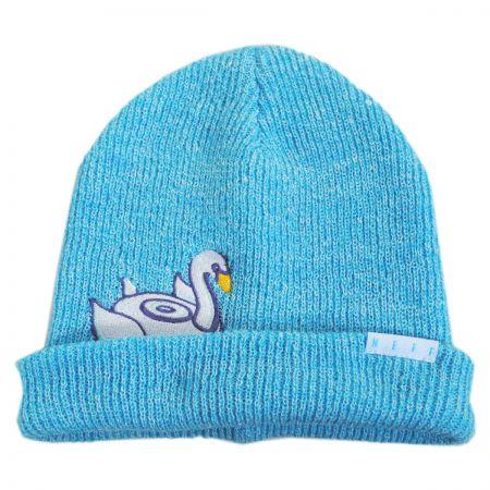 Neff Peek A Boo Swan Float Beanie Hat