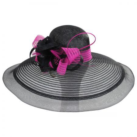 Eloise Sinamay Blend Lampshade Hat