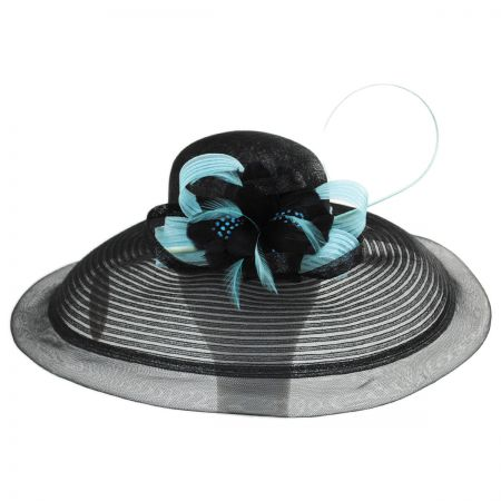Eloise Sinamay Blend Lampshade Hat alternate view 5