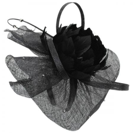 Priscilla Sinamay Fascinator Hat alternate view 1