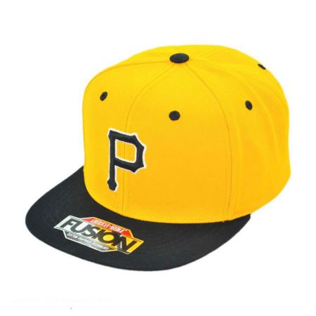 American Needle Pittsburgh Pirates MLB Back 2 Front Snapback Baseball Cap