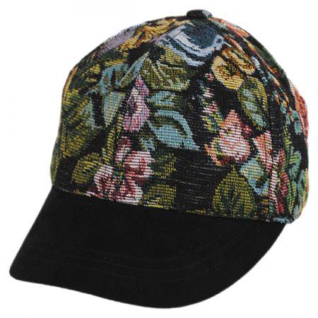Betmar Floral Adjustable Baseball Cap