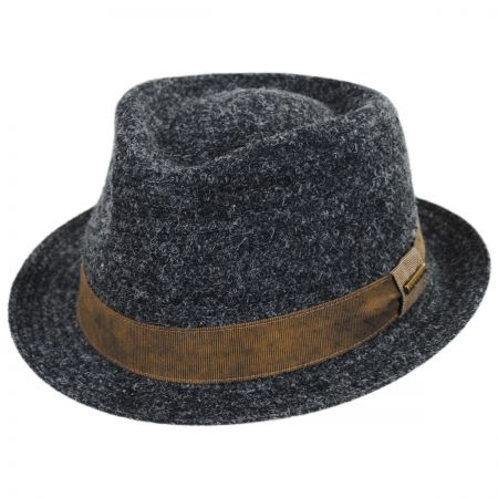 Stetson Braid Wool Blend Fedora Hat