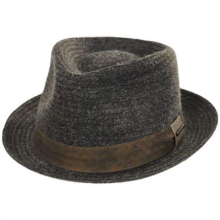 Braid Wool Blend Fedora Hat alternate view 13