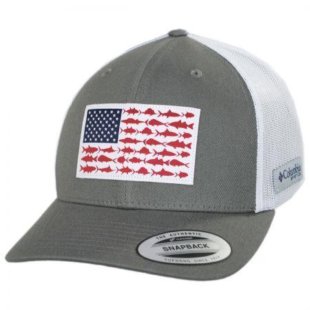 PFG Fish Flag Mesh Snapback Baseball Cap alternate view 5