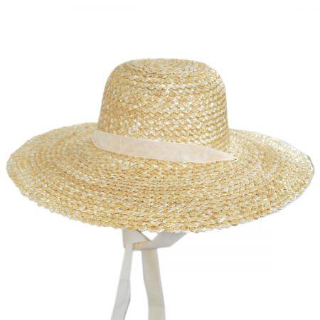 Dolce Wheat Straw Swinger Hat alternate view 1