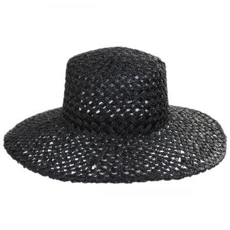 Lack of Color Sunnydip Seagrass Straw Boater Hat