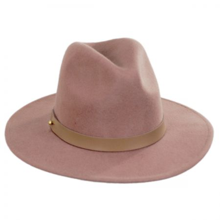 Fleur Wool Felt Fedora Hat alternate view 1