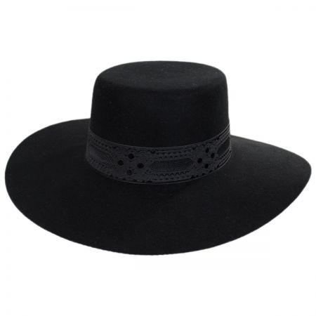 Lack of Color Sierra Wool Felt Boater Hat