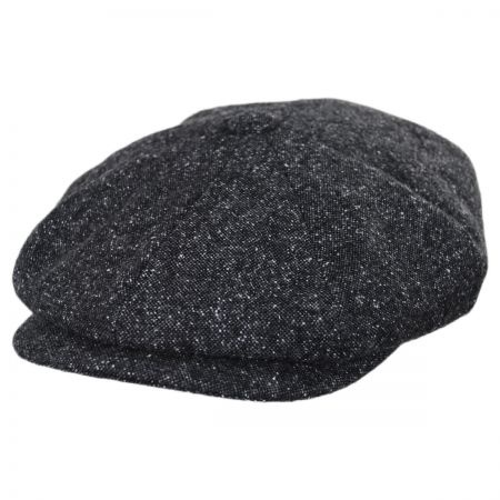 B2B Baskerville Hat Company Brunswick Wool Tweed Newsboy Cap