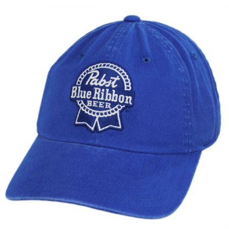 American Needle Pabst Blue Ribbon Beer Strapback Baseball Cap