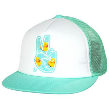 Concord Peace Trucker Snapback Baseball Cap