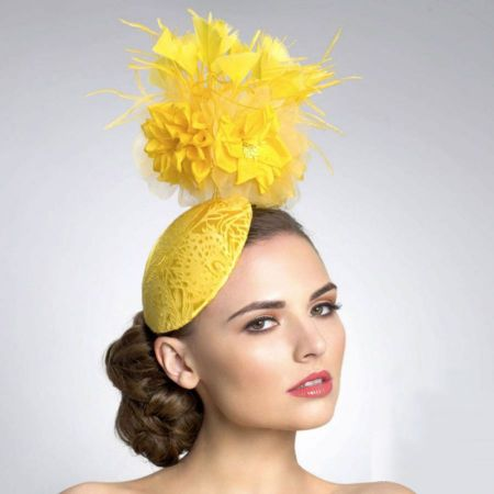 Arturo Rios Collection Sunshine Cocktail Hat by Arturo Rios