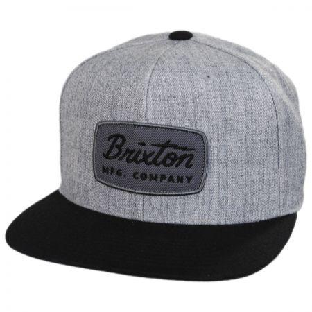 Brixton Hats Jolt Mid Profile Snapback Baseball Cap