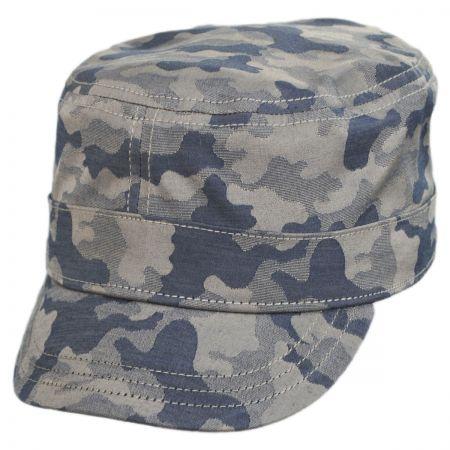 Camo Fly Cotton Cadet Cap