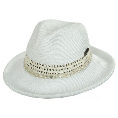 7507ca8ae Cosmopolitan Toyo Straw Fedora Hat