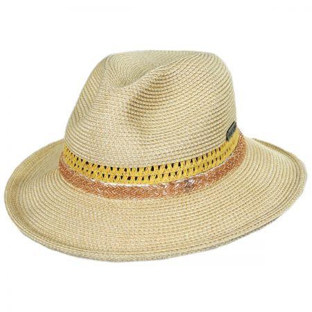 Cosmopolitan Toyo Straw Fedora Hat alternate view 5