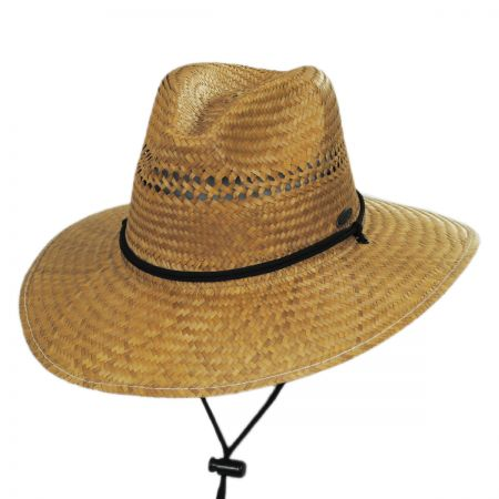 Aussie Palm Straw Lifeguard Hat alternate view 1