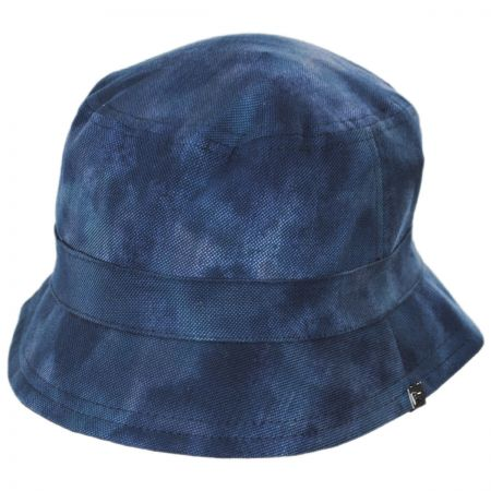 EK Collection by New Era Reversible Dyed Oxford Cotton Bucket Hat