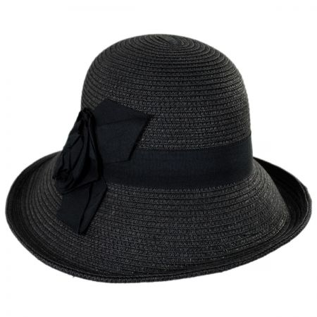 Jeanne Simmons Rosa Toyo Straw Sun Hat