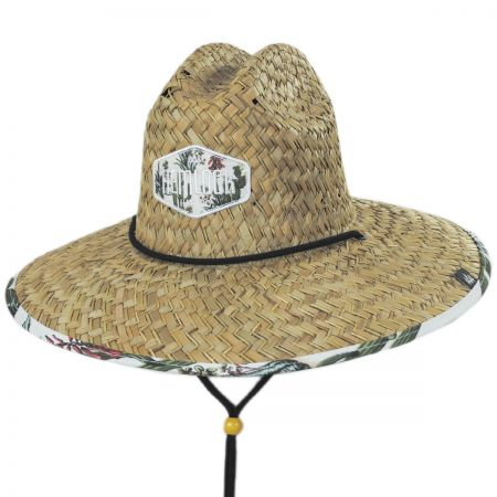 04439c253d7 Hemlock Hat Co Cacti Straw Lifeguard Hat