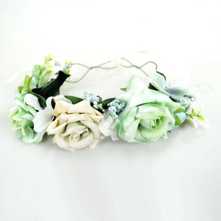 Azul Flower Hat/Headband