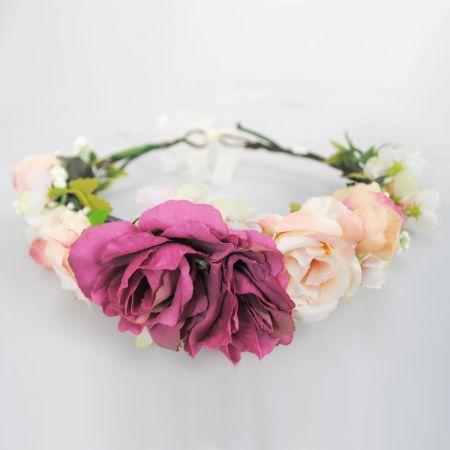 Jeanne Simmons Rosado Flower Hat/Headband
