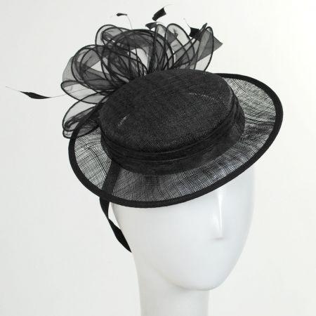 Jeanne Simmons Bateau Sinamay Sailor Hat