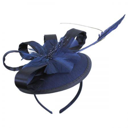 Jeanne Simmons Marino Satin Bow Fascinator Hat