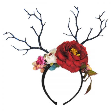Jeanne Simmons Red Rose Headband