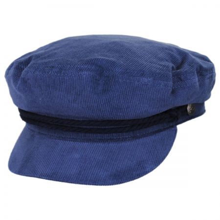 Brixton Hats Corduroy Cotton Fiddler Cap