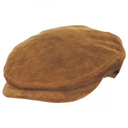 Kangol Italian Suede Leather Ivy Cap