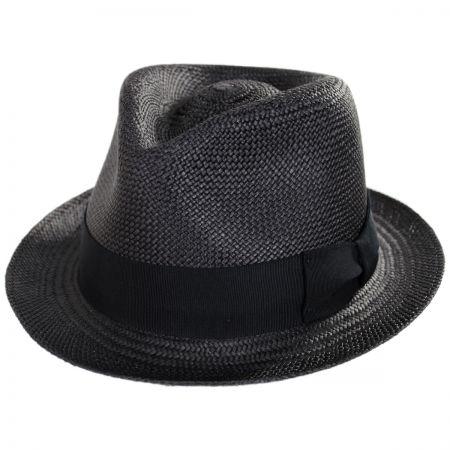 Havana Panama Straw Fedora Hat alternate view 1