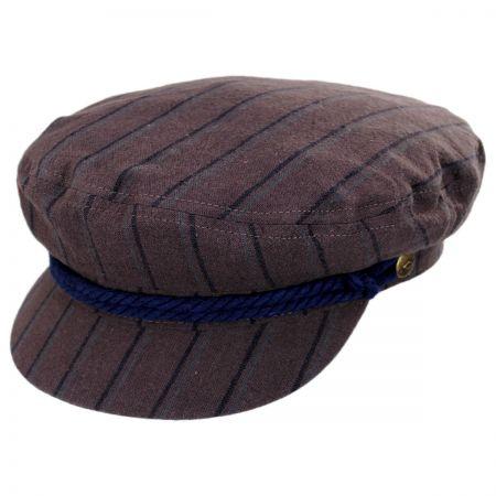 Striped Cotton Fiddler Cap