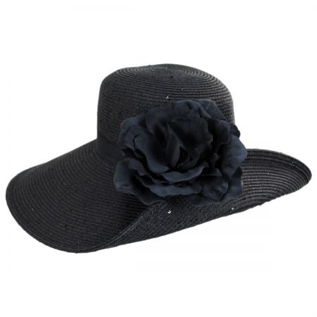Blossom Toyo Straw Blend Off Face Hat