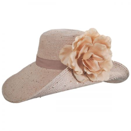 Something Special Blossom Toyo Straw Blend Off Face Hat